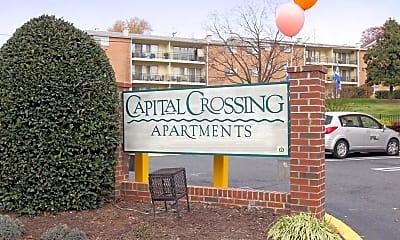 Community Signage, Capital Crossing, 2