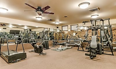 Fitness Weight Room, Imperial Tower Apartments, 1
