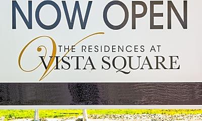 Community Signage, The Residences at Vista Square, 2