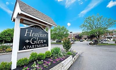 Community Signage, Heather Glen Apartments, 0