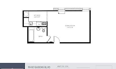 90-02 Queens Blvd 514, 2