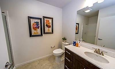 Bathroom, South Block Apartments, 2