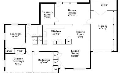 Building, 10751 Tulsa Rd, 1