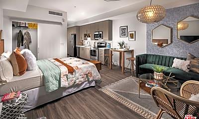 Bedroom, 555 S Spring St B818, 1