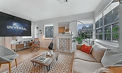 Living Room, 1457 Meridian Ave, 1