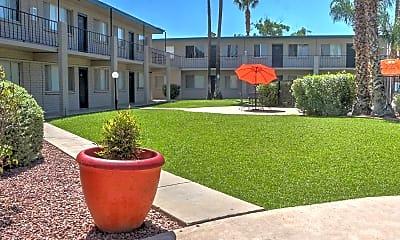 Courtyard, Catalina Vista, 1