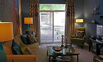 Living Room, The Reserve at Evanston, 1