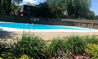 Pool, Greenbriar Apartments, 1