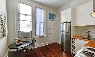 Kitchen- dining for two!, 309 E 13th Street #2, 2