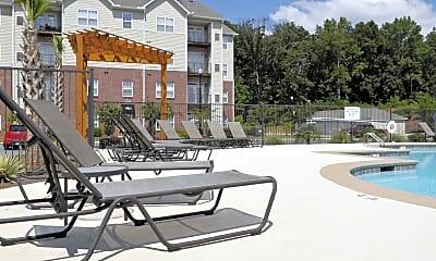 Pool, Pavilion At Plantation Way Apartment Homes, 1