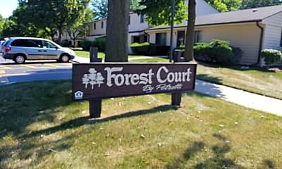 Forest Court Apartments, 1