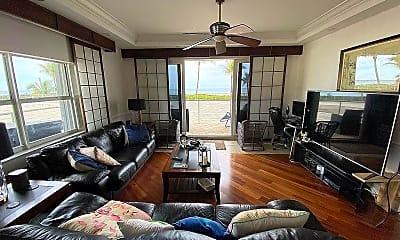 Living Room, 3000 S Ocean Blvd 101, 1
