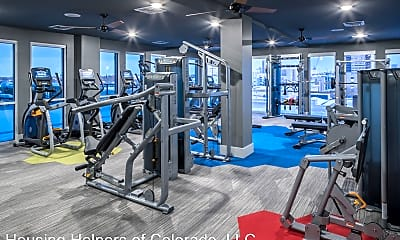 Fitness Weight Room, 550 Park Ave W, 1
