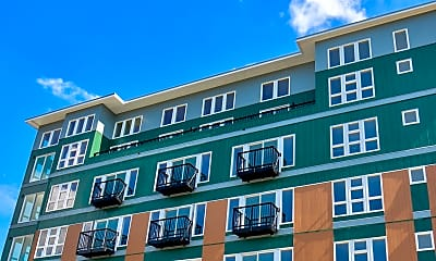 Building, Sedona Apartments, 1