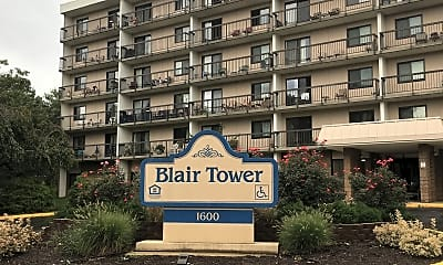 Blair Tower, 1