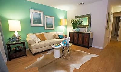 Living Room, Ridgemar Commons, 1