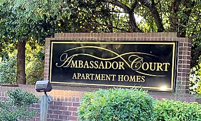Community Signage, Ambassador Court Apts, 1