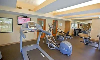 Fitness Weight Room, River Pointe, 2