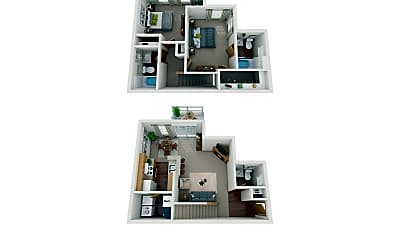 Waterford Village Apartments, 2