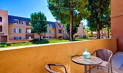 Courtyard, Nobel Court Apartments, 2