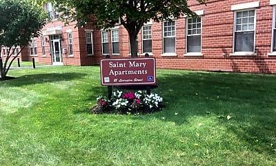 St Mary Apartments, 1