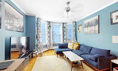 Living Room, 289 Beacon Street, Unit 4, 0