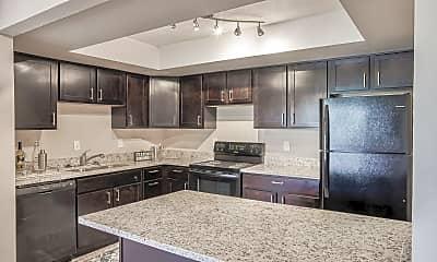 Kitchen, Edgewater Apartments, 1