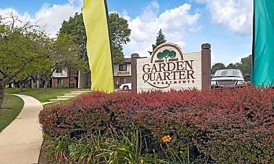 Community Signage, Garden Quarter Apartments, 2