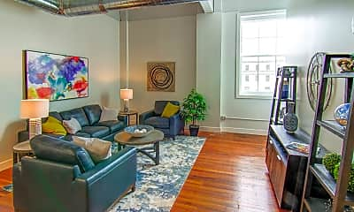 Living Room, Rathbun Lofts, 0