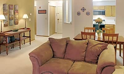 Living Room, The Lexington Apartments And Townhomes, 0