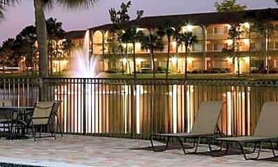 Pool, Cameron Cove Apartments, 1