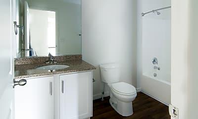 Bathroom, Ridgeview Apartments, 2