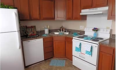 Kitchen, Stonebrook Townhome and Apartments, 1