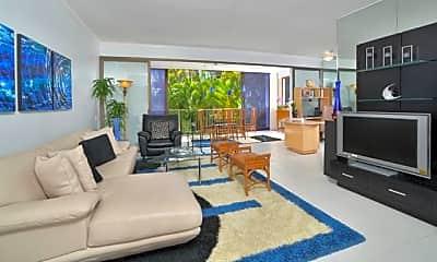 Living Room, 4999 Kahala Ave 350, 1