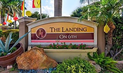 Community Signage, The Landing On 6th, 1