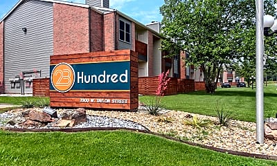 Community Signage, 23Hundred, 2