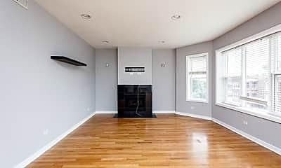 Living Room, 3012 W Addison St, 1