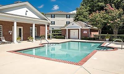 Pool, Residences at Braemar Apartments, 1
