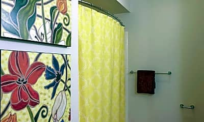 Bathroom, Whispering Pines, 2