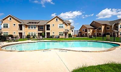 Pool, Burkburnett Residences, 0
