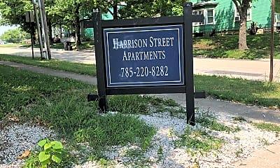 Harrison Street Apartments, 1