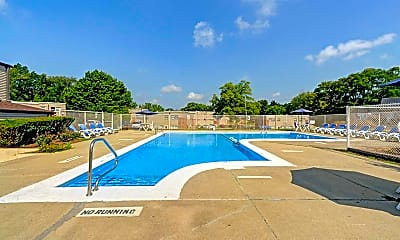Pool, Olde Towne Apartments, 0