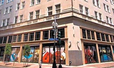 Building, Gravier Place Apartments, 0