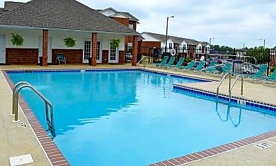 Pool, Palisades Apartments, 1