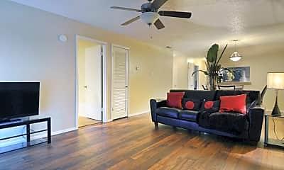 Living Room, Avistar at the Oaks, 0