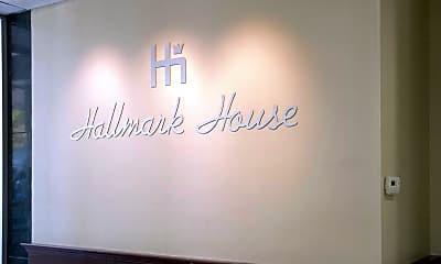 Community Signage, Hallmark House, 2