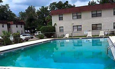 Pool, Kabana Cove Apartments, 1