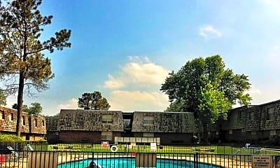 Pool, Coachlight Apartments, 1