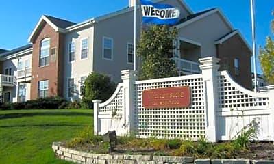 Community Signage, Waterside Apartments, 1