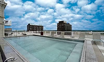 Pool, Marquette Apartments, 2